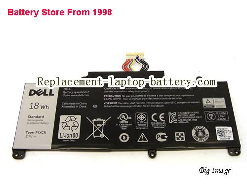 DELL X1MRY Battery 18Wh Black