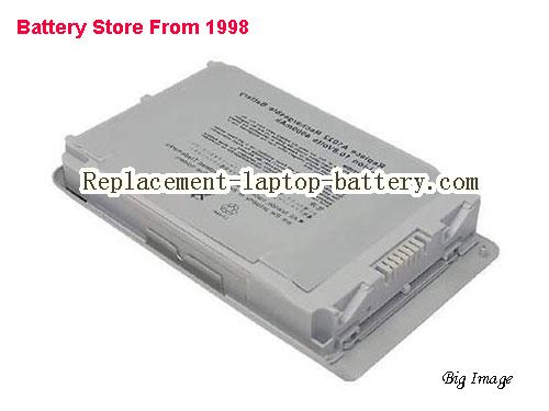 OEM APPLE A1079 A1022 661-2787 661-3233 Replacement Laptop Battery For PowerBook G4 12 Series