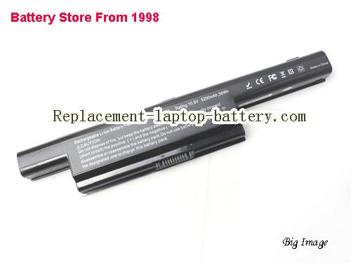 ASUS K93SV-YZ094V Battery 5200mAh, 56Wh  Black