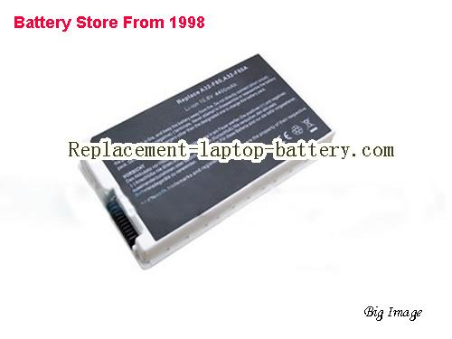 ASUS F80Q-a1 Battery 4400mAh White