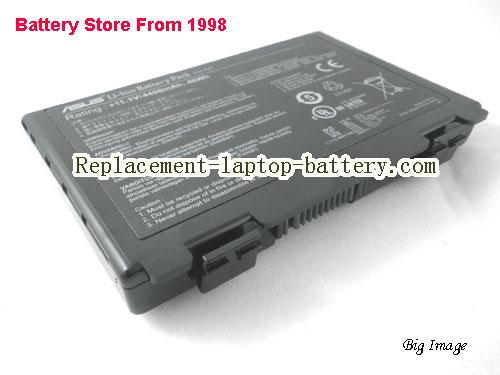 ASUS F83S Series Battery 4400mAh, 46Wh  Black