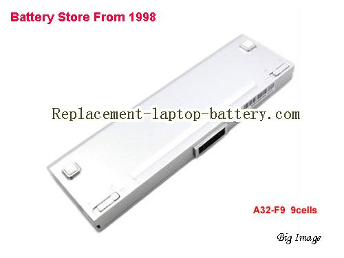 ASUS F9 Series Battery 7800mAh White