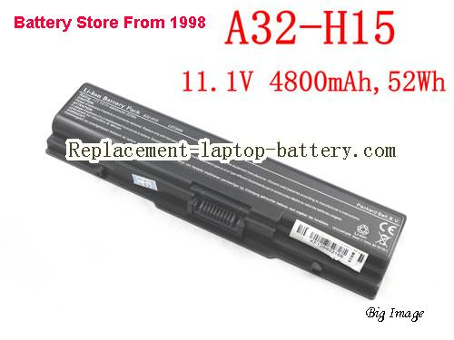 PACKARD BELL EasyNote A32-H15 Series Battery 4800mAh, 52Wh  Black
