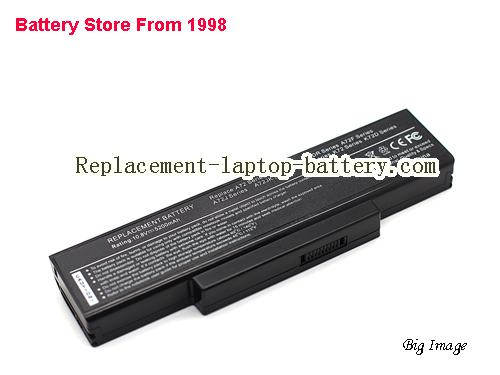 ASUS K72K Battery 5200mAh Black