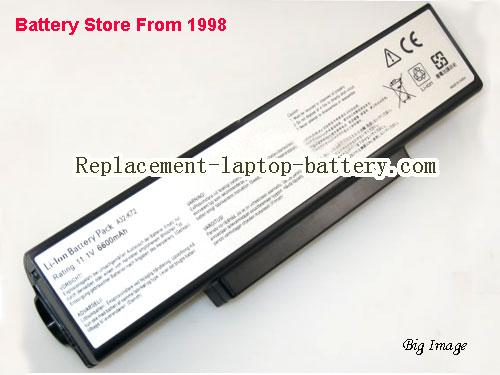 ASUS K73SV-TY291V Battery 6600mAh Black