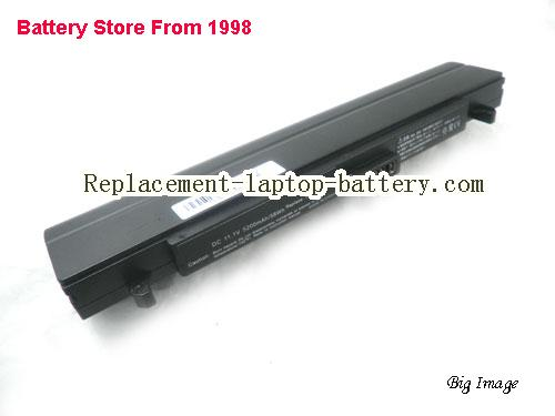 ASUS W5A Battery 4400mAh Black