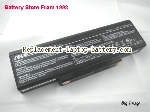 ASUS F3Jr Battery 7200mAh Black