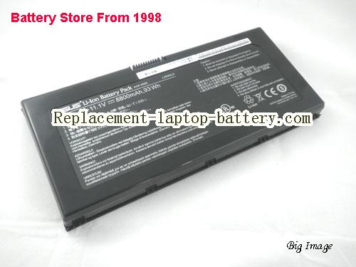ASUS W90VP Battery 8800mAh Black