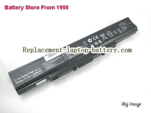 ASUS U31S Battery 4400mAh Black