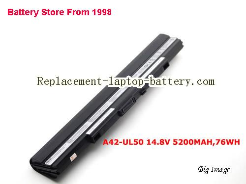 ASUS UL50Vt-XX010x Battery 5200mAh Black