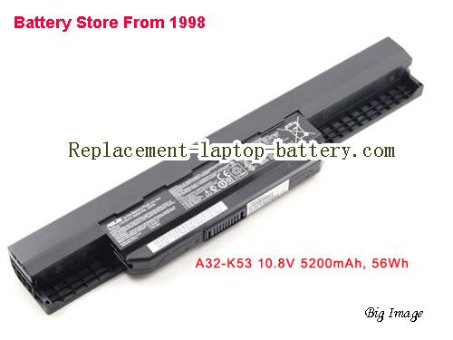 ASUS X43JR Battery 5200mAh Black