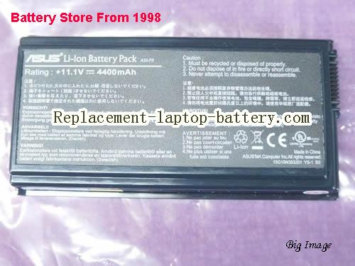 ASUS 70-NLF1B2000Y Battery 4400mAh Black