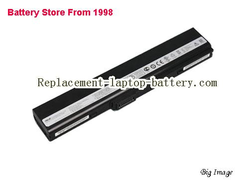 ASUS F86 Series Battery 63Wh Black