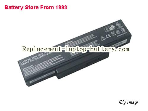 ASUS Z84JV Battery 4800mAh Black