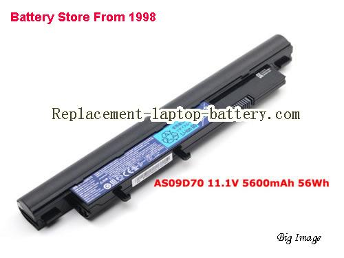 ACER Aspire 4810TZ-4120 Battery 5600mAh Black