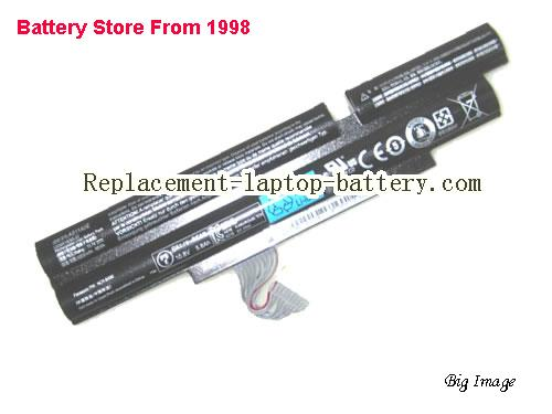 ACER 5830TZ Battery 6000mAh, 66Wh  Black