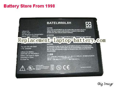 ACER Aspire 1671LMi Battery 4000mAh Black