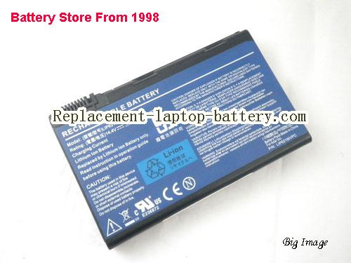 ACER LIP6219IVPC,LIP6219IVPC SY6,BT.00605.025 FOR Acer Travelmate 6410 Series Laptop battery, 4800mah, 8cells