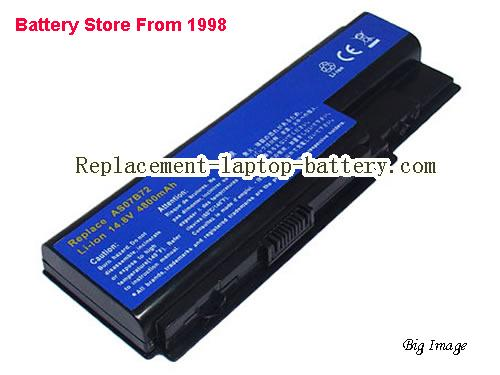 ACER AS07B71 Battery 4400mAh Black