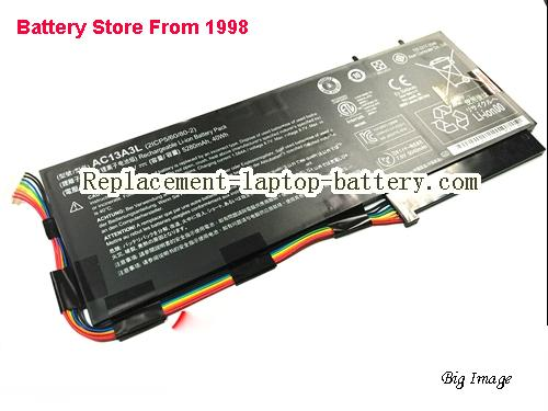 ACER 2ICP5/60/80-2 Battery 40Wh, 5280Ah Black