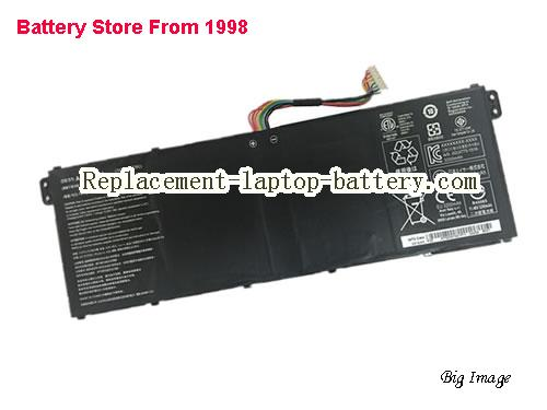 ACER AC14B17J Battery 3320mAh, 38.04Wh  Black