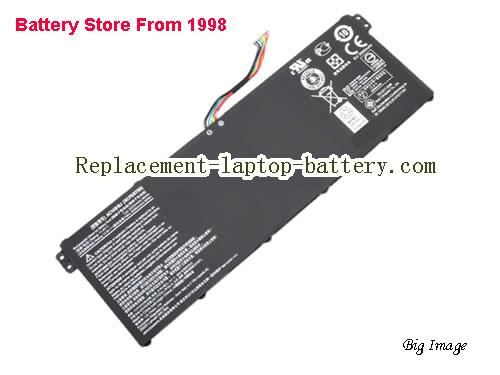 ACER AC14B13J Battery 3220mAh, 36Wh  Black