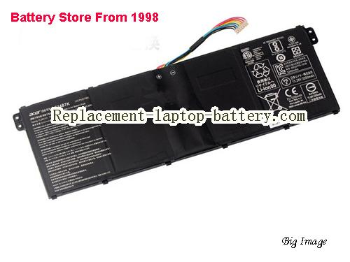 ACER Spin 5 SP515-51GN-80A3 Battery 3320mAh, 50.7Wh  Black