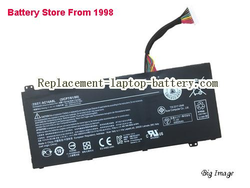 ACER 31CP76480 Battery 4870mAh, 55.5Wh  Black