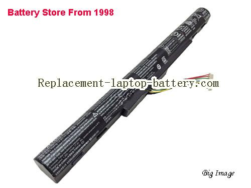 ACER F5-572G-538T Battery 2500mAh, 37Wh  Black