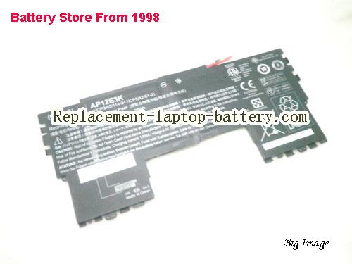 ACER 1ICP365114-2 Battery 3790mAh, 28Wh  Black