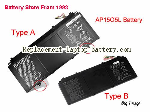 ACER Chromebook R13 CB5312T Battery 4670mAh, 53Wh  Black
