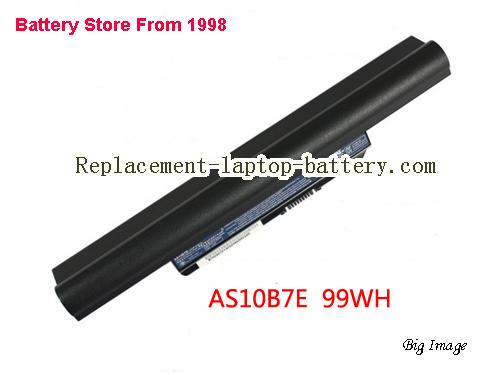 ACER 5820TG-334G50Mn Battery 9000mAh Black