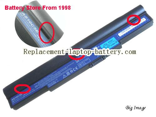ACER AS10C7E Battery 6000mAh Black