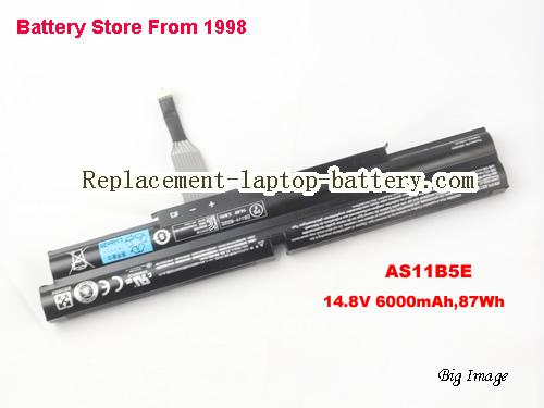 Original AS11B5E Battery For Acer Aspire Ethos 5951 5951G Series 6000mAh 87Wh