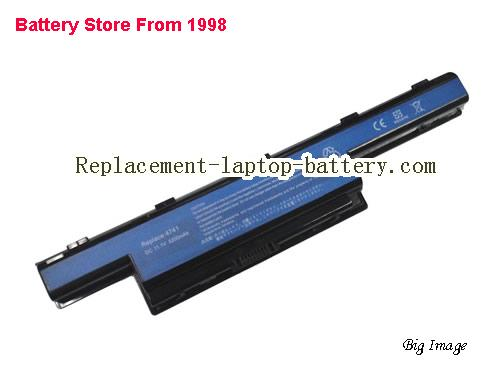 PACKARD BELL Easynote LM87 Battery 5200mAh Black