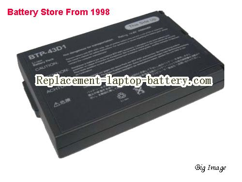 ACER 60.46W18.001 Battery 4400mAh, 65Wh  Black