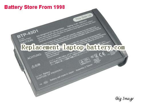 ACER 60.46W18.001 Battery 4400mAh Grey