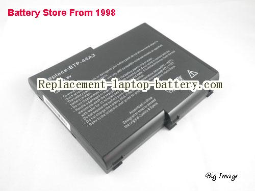 ACER 909-2220 Battery 6600mAh Black