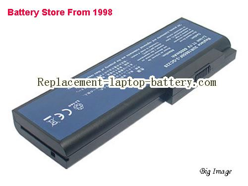 Acer 3UR18650F-3-QC228, Ferrari 5000 Series, Travelmate 8200, 8210 Series Replacement Laptop Battery 6600mAh