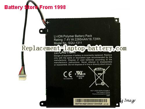 ACER 2ICP4/69/82 Battery 2260mAh, 16Wh  Black