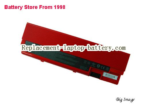 ACER 4001 Battery 4400mAh Red