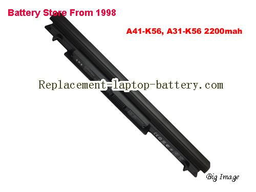 ASUS K46C Battery 2200mAh Black