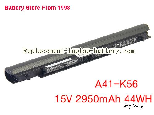ASUS K46C Battery 2950mAh, 44Wh  Black