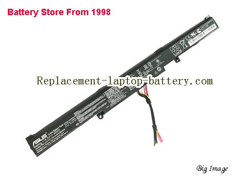 ASUS ROG Strix GL553VD-FY076T Battery 3350mAh, 48Wh  Black