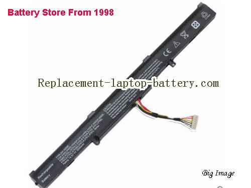 ASUS K751LN Battery 2200mAh Black