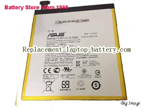 ASUS Z300CXG 1B Battery 4750mAh, 18Wh