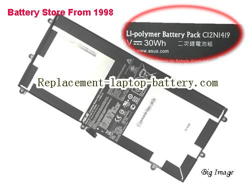 ASUS C12N1419 Battery 7660mAh, 30Wh  Black