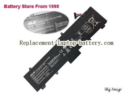 ASUS C21 TX300D Battery 3120mAh, 23Wh  Black