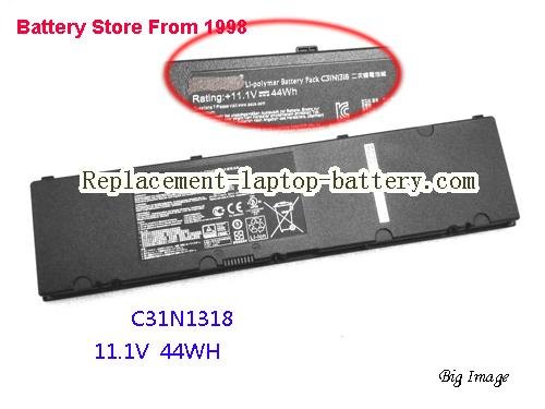 ASUS C3INI3I8 Battery 4000mAh, 44Wh  Black