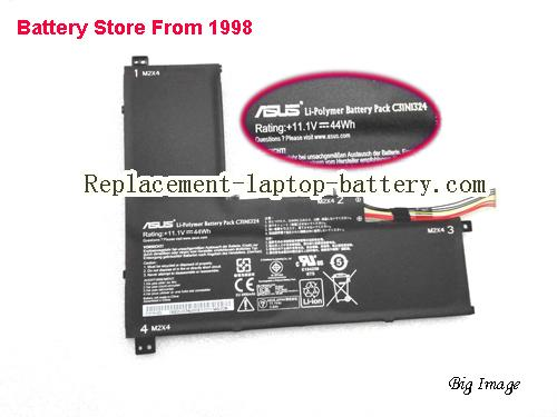 ASUS C3lNl324 Battery 3970mAh, 44Wh  Black